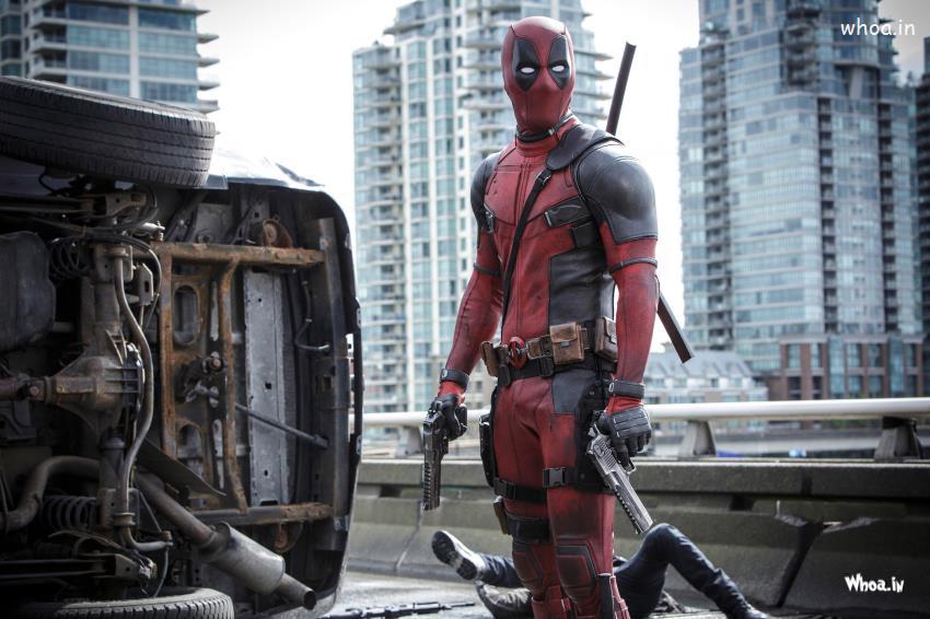 God Ganesh Hd Wallpaper Deadpool Guns Fights Hd Hollywood Movies Wallpaper