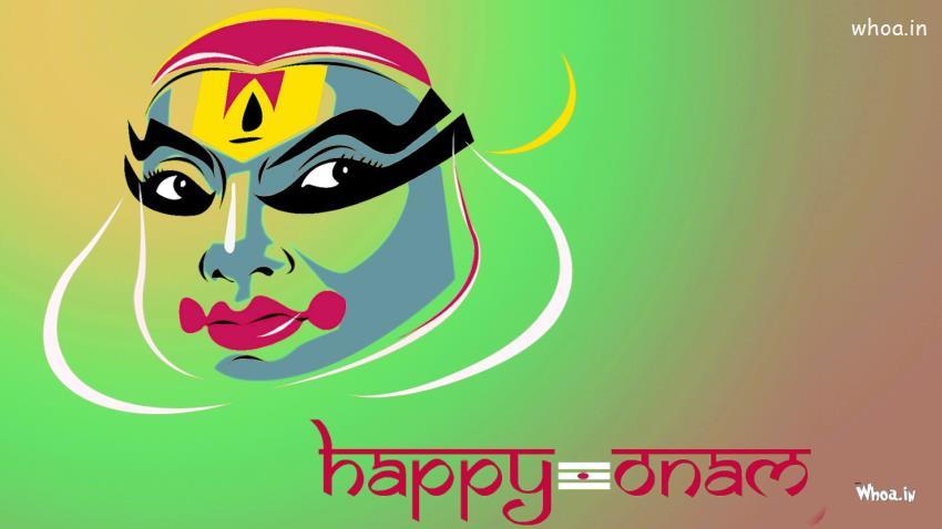 Onam Wallpapers Hd Happy Onam Painting Hd Wallpaper