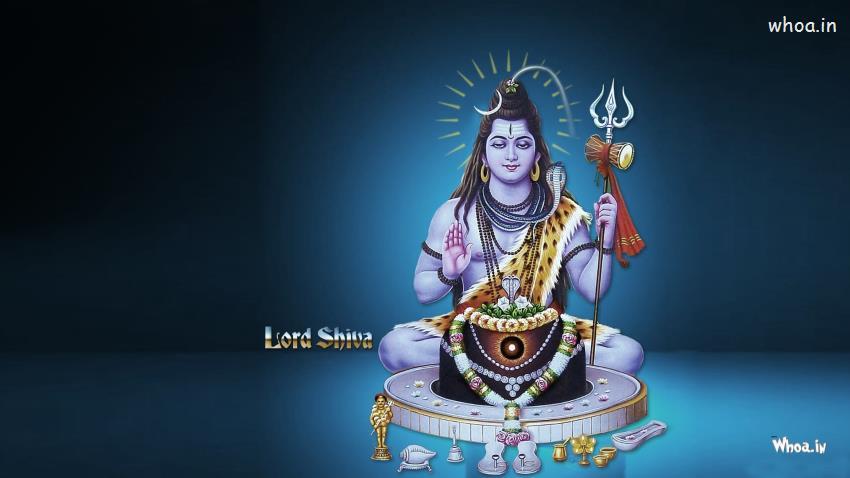 Shankar Bhagwan Wallpaper 3d Lord Bholenath Samadhi With Shivling Hd Wallpaper