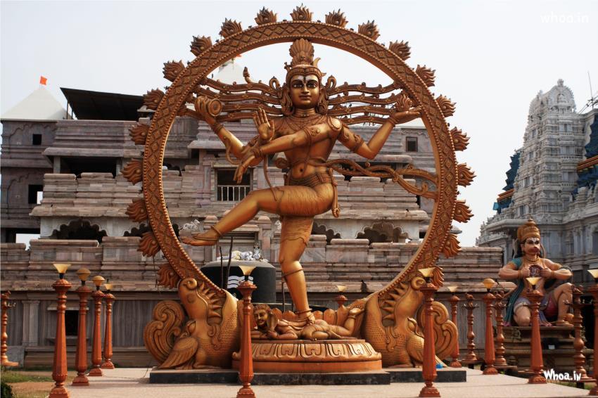 Lord Nataraja Dancing Statue HD Wallpaper