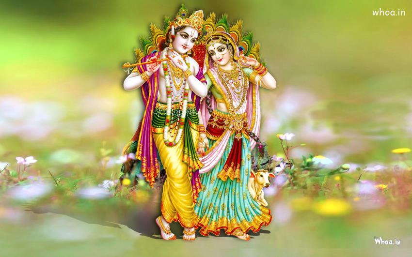 lord radhe krishna hd