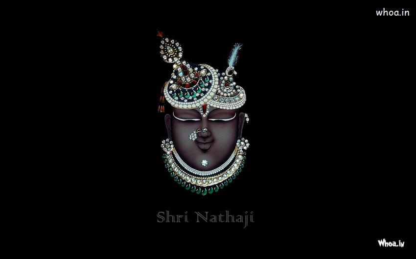 Hanuman 3d Wallpaper For Pc Mukharvind Shrinathji Wirh Dark Background Hd Desktop