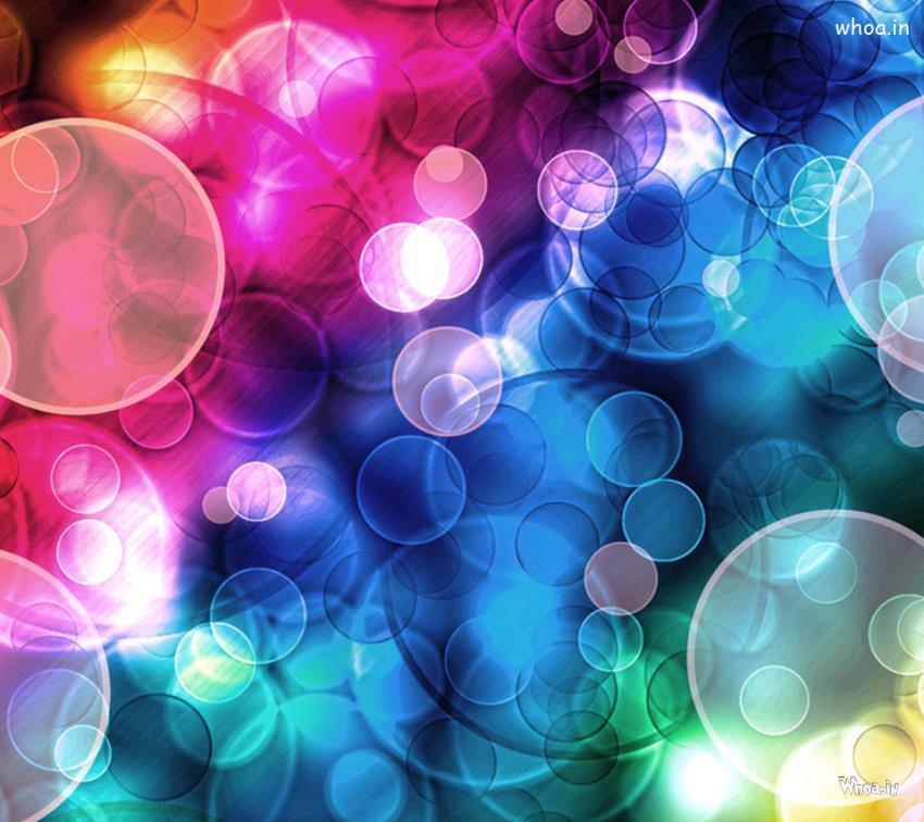 Happy Diwali Animated Wallpaper Multicolor Bubbles Art Abstract Hd Wallpaper