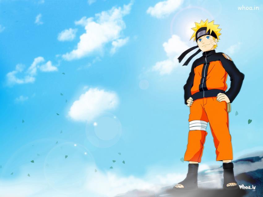 Naruto Shippuden Standing HD Wallpaper
