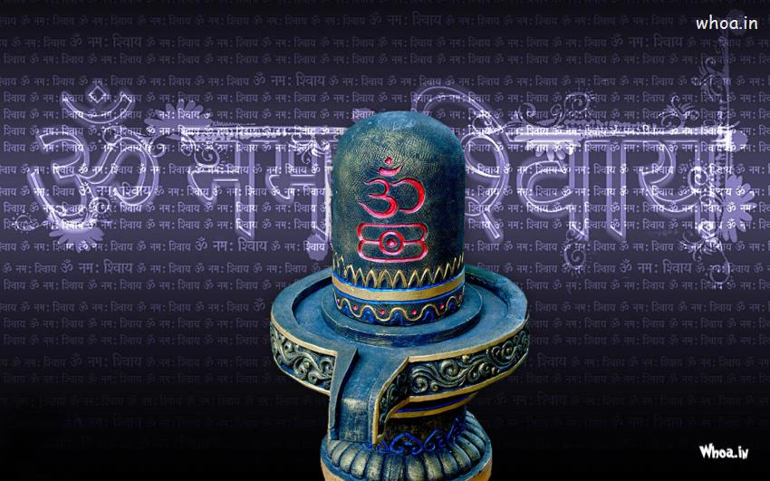 God Quotes Wallpaper For Mobile Om Namah Shivay With Shivling Hd Wallpaper