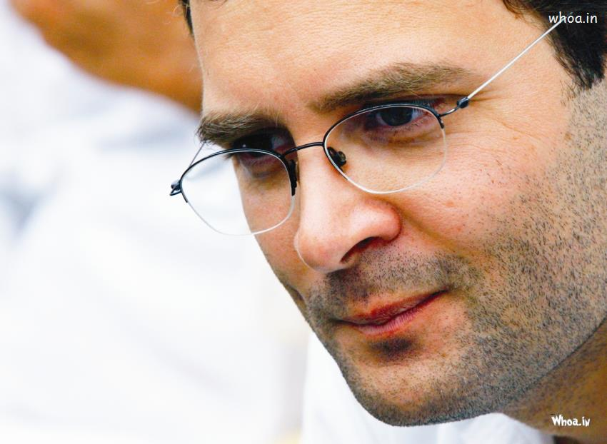Happy Sunday Wallpaper With Quotes Rahul Gandhi Face Closeup Hd Wallpaper