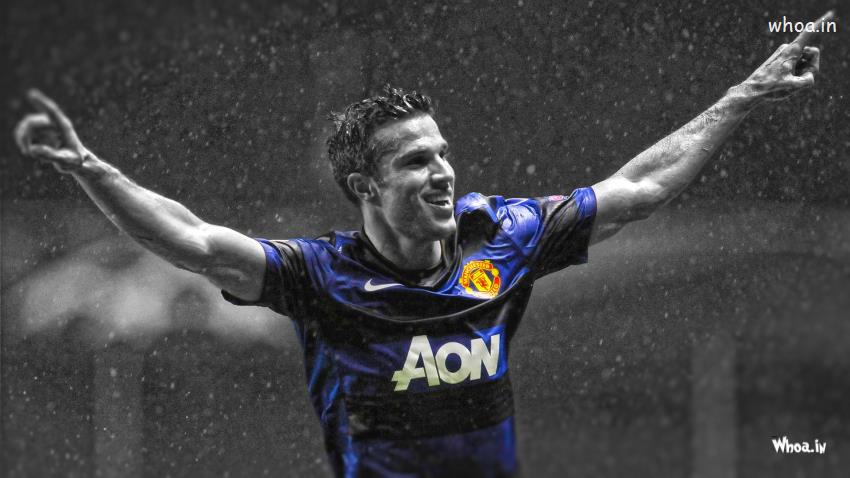 God Krishna Hd 3d Wallpaper Robin Van Persie Goal Celebration Hd Football Player Wallpaper