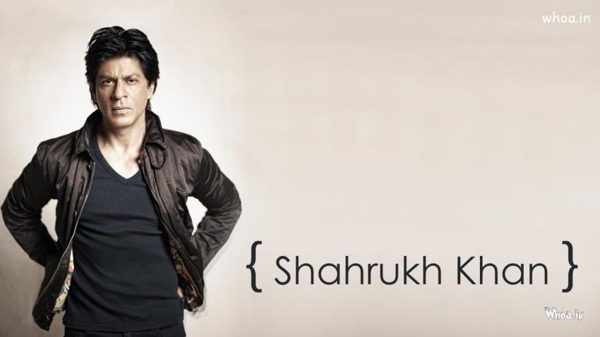 Srk 3d Wallpaper Shah Rukh Khan Black Jacket Hd Bollywood Superstar Wallpaper