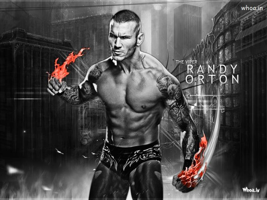 Lord Shiva Black Hd Wallpapers The Viper Randy Orton Black And White Hd Wallpaper