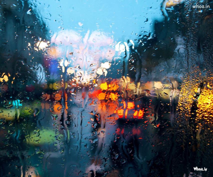 Janmashtami Quotes Wallpapers Water Drop Blur Hd Wallpaper
