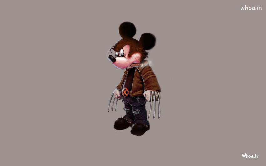 Cute Friendship Quotes Hd Wallpapers Wolverine Mickey Mouse Hd Cartoon Wallpaper