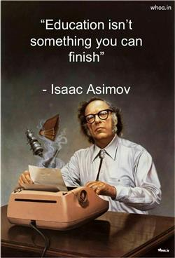 Cute Wallpapers On Friendship Education Quote By Isaac Asimov