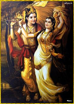 0best picture of lord radhe krishna art images