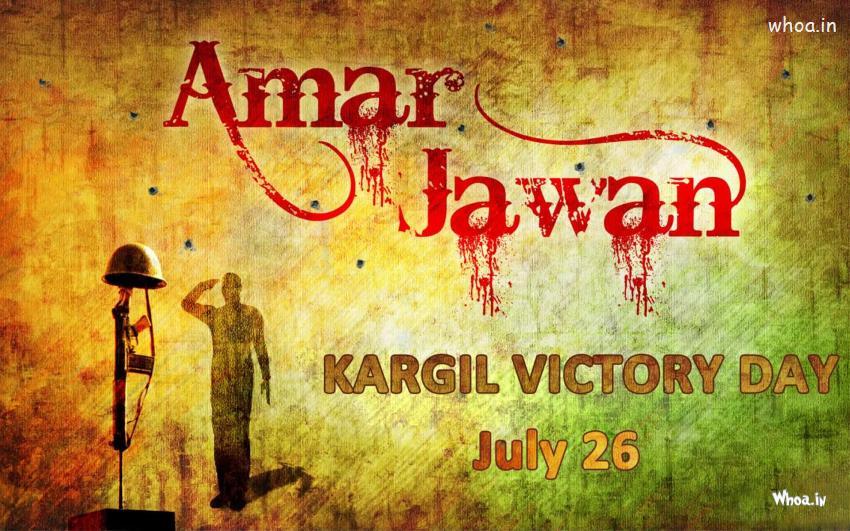 Happy Kargil Vijay Diwas Greeting Image