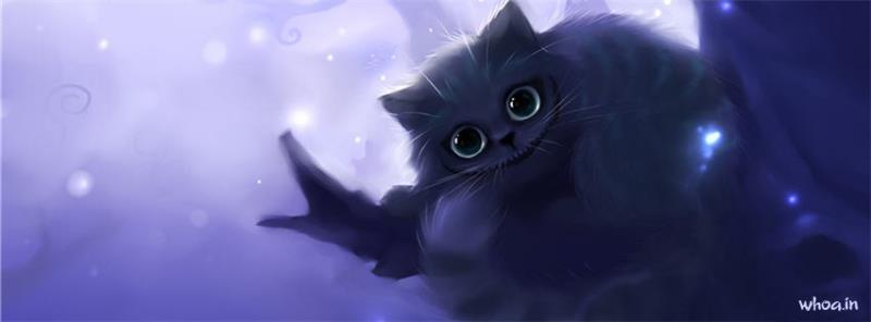 Cute Cartoon Birthday Wallpaper Cat Art Facebook Cover