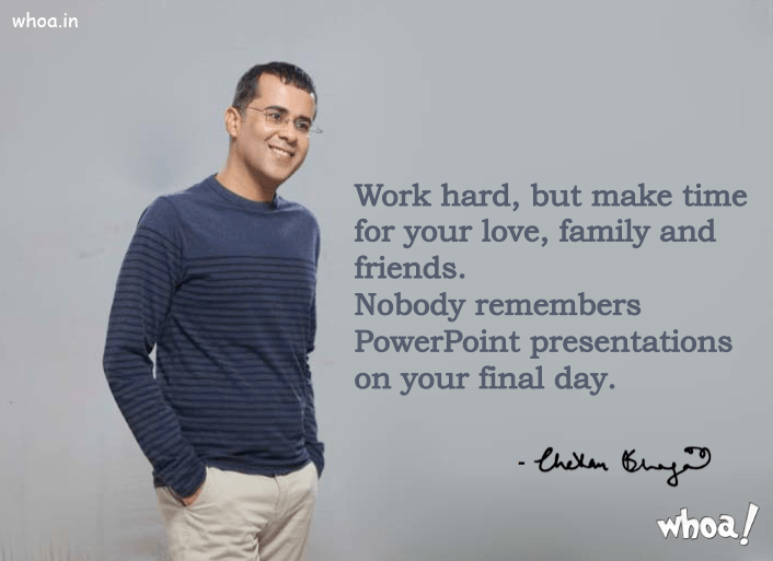 Hindi Quotes Wallpaper Hd Chetan Bhagat Quotes With His Photo