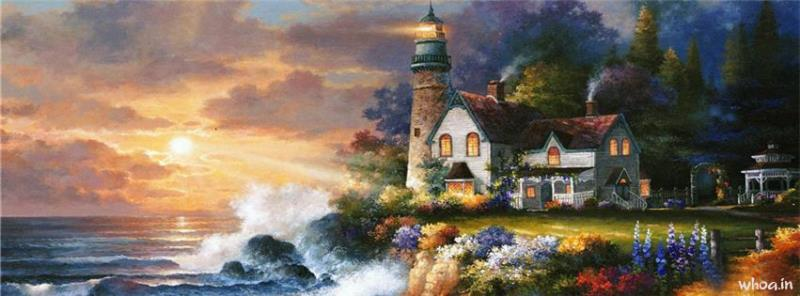 Cute Baby Hd Wallpaper For Fb Painting Facebook Cover 4
