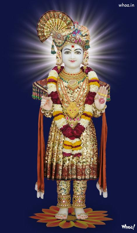 3d God Krishna Wallpaper Download Lord Shri Swaminarayan Wallpaper