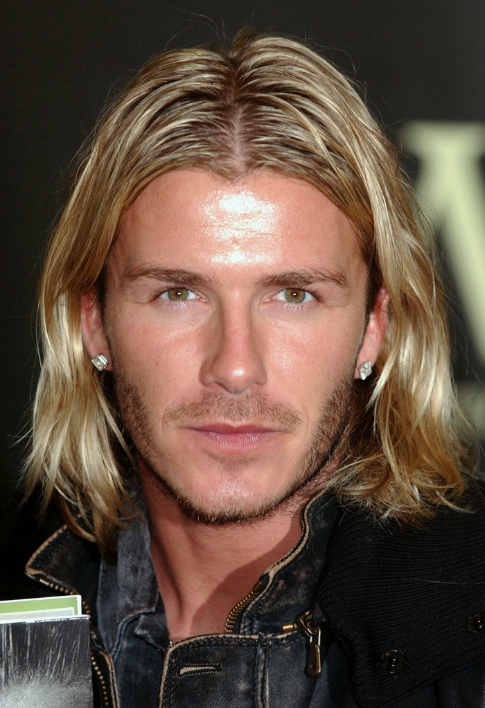 In Photos Top 14 David Beckham Hairstyles Who Ate All