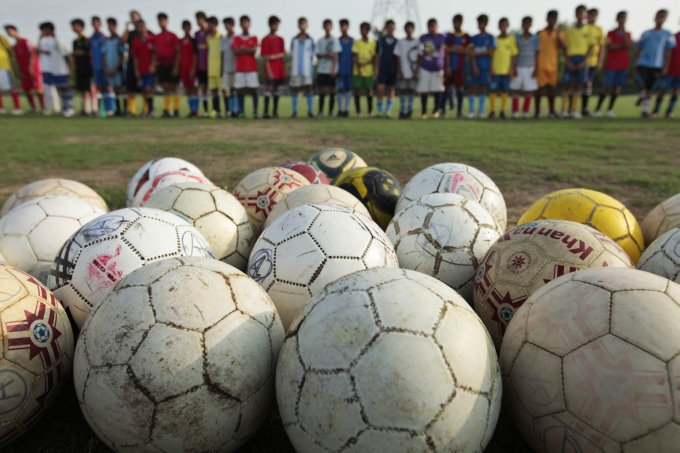 Image result for children's football india