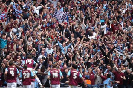 Image result for West Ham fc fans