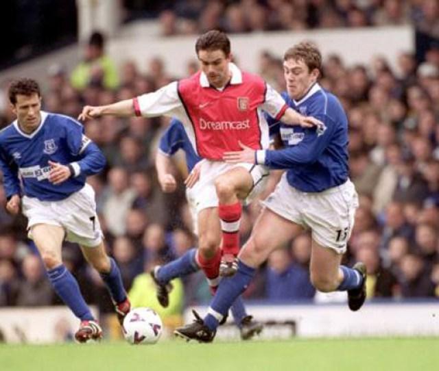 Soccer Fa Carling Premiership Everton V Arsenal