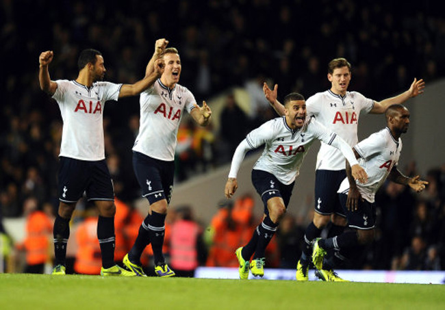 Soccer Capital One Cup Fourth Round Tottenham