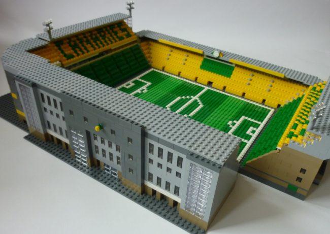 Brickstand 18 Fabulous Football Stadiums Recreated