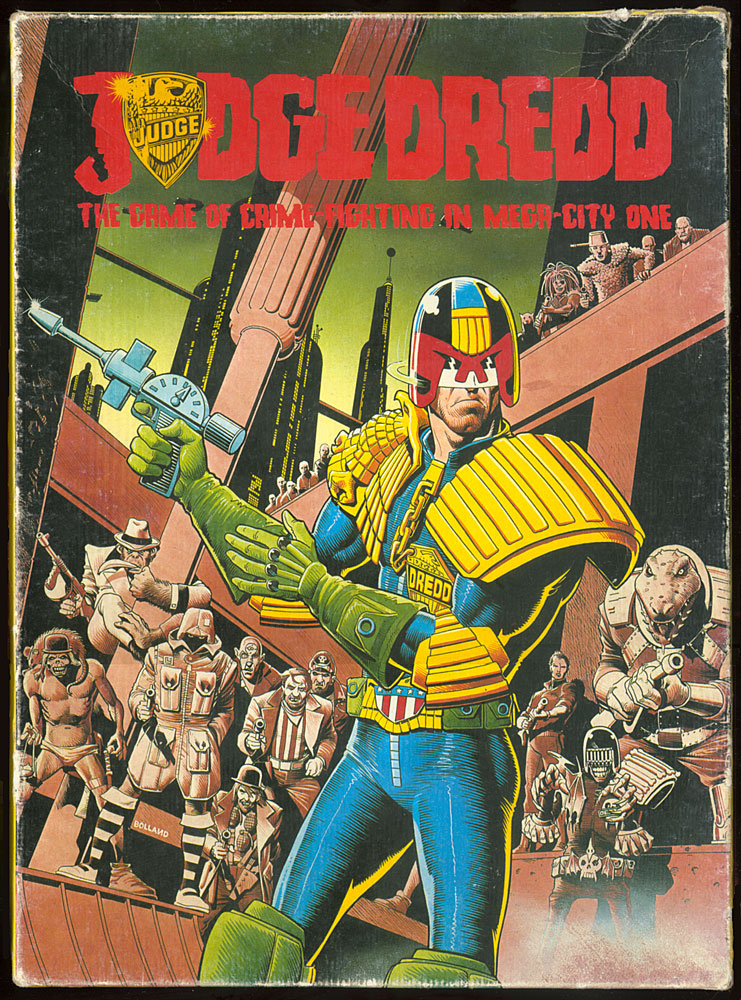 Judge Dredd Game