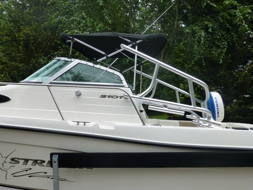 Height Reduction - Fold Over for Fiberglass Boat
