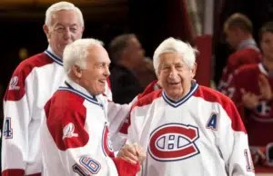 Elmer Lach Montreal Canadiens