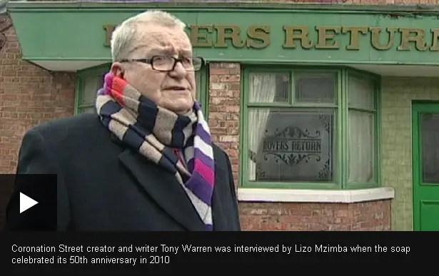 Coronation Street creator Tony Warren dead at 79