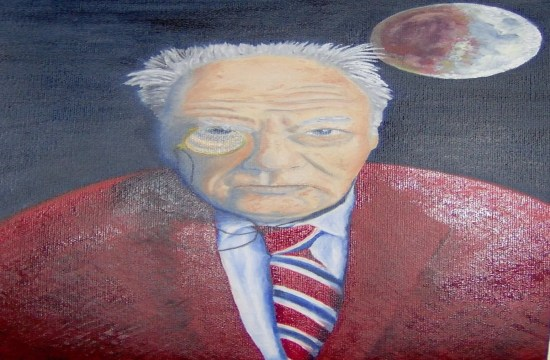 Tribute to Sir Patrick Moore who died today. 13