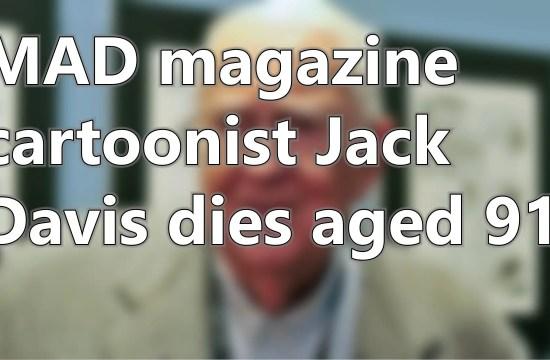 MAD magazine cartoonist Jack Davis dies aged 91 | Short News 42