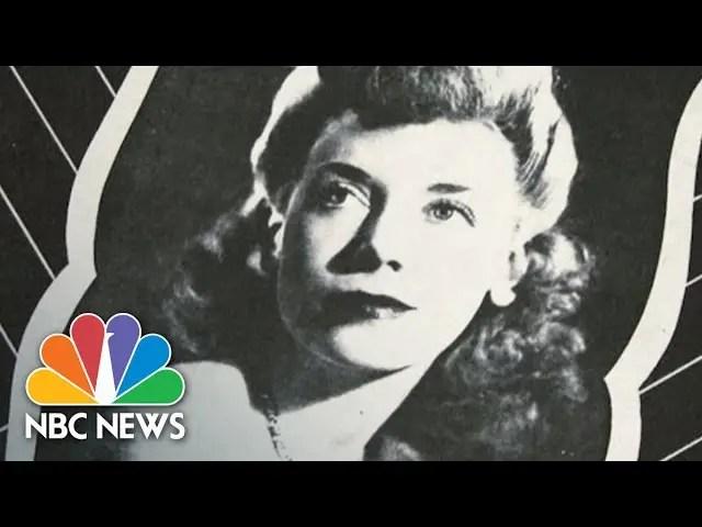 Remembering 'Canteen Girl' Of World War II   NBC News 1