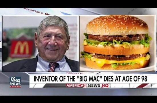 Creator of the Big Mac dies at age of 98 3