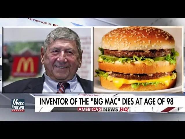 Creator of the Big Mac dies at age of 98 1