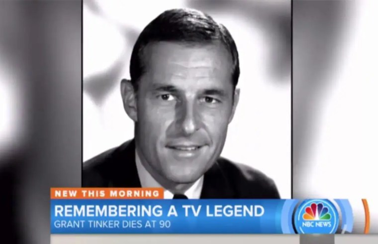 Grant Tinker, former CEO of NBC, dies at age 90 1