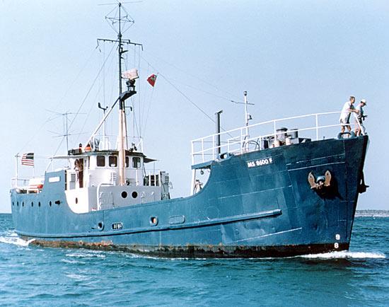 History Of WHOI Ships Oceanus Magazine