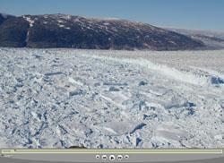 Helheim glacier