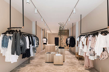 interior fashion shop