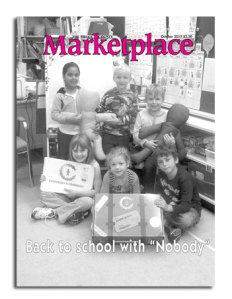 Who Is NOBODY? as featured in the Marketplace magazine