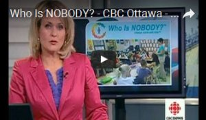 Who is NOBODY? on CBC News Toronto