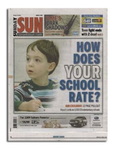Who Is NOBODY? as featured in the Toronto Sun newspaper