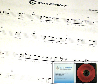 Who is NOBODY? - CD and Music Sheets
