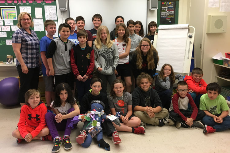 Queen Elizabeth Public School - Renfrew County District School Board Class of the Week