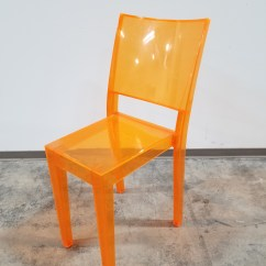 Knoll Office Chair Parts Wayfair Rocking Cushions Kartell La Marie Orange - Furniture Chicago New Used Refurbished