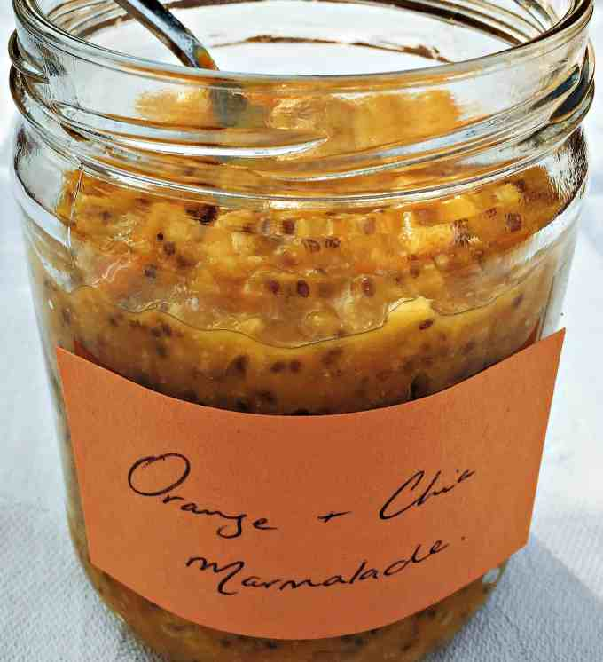 Whole Orange Chia Marmalade