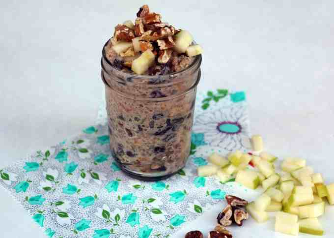 Apple quinoa breakfast pots
