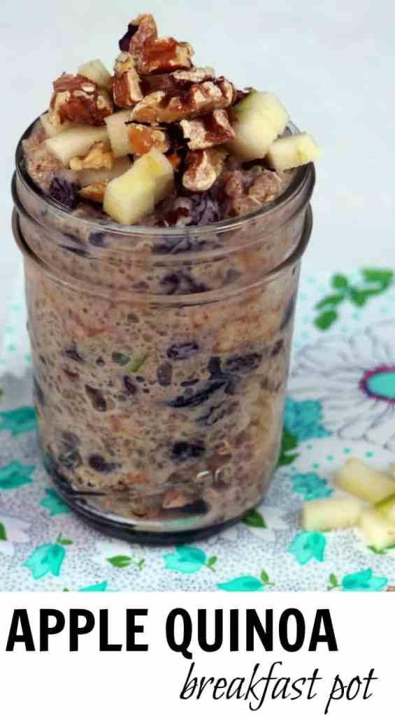 Apple Quinoa Breakfast Pot